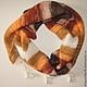 Шарфы и шарфики ручной работы. Ярмарка Мастеров - ручная работа. Купить Бактус. Handmade. Бактус, бактус спицами, шарф, ангора