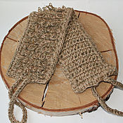 Для дома и интерьера handmade. Livemaster - original item Bast of hemp jute and