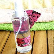 Косметика ручной работы. Ярмарка Мастеров - ручная работа лосьон душистая вода для лица и тела. Handmade.