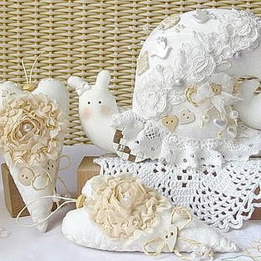 Свадебный набор Улитка и два сердечка