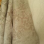 Для дома и интерьера handmade. Livemaster - original item Linen bath towel