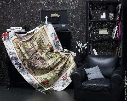 Текстиль, ковры ручной работы. Ярмарка Мастеров - ручная работа. Купить Скатерть Лондон. Handmade. Лондон, эксклюзив