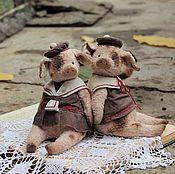 Куклы и игрушки ручной работы. Ярмарка Мастеров - ручная работа Нюша и Павлуша :). Handmade.