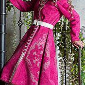 Одежда handmade. Livemaster - original item Designer coat, pink coat. Handmade.