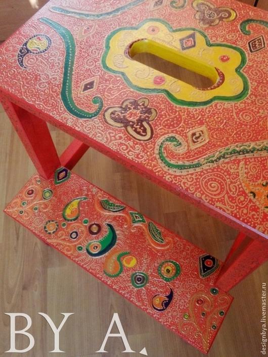Мебель ручной работы. Ярмарка Мастеров - ручная работа. Купить Стул в восточном индийском  стиле. Handmade. Восточный стиль, стул