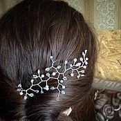 Свадебный салон ручной работы. Ярмарка Мастеров - ручная работа Нежное украшение для волос.. Handmade.