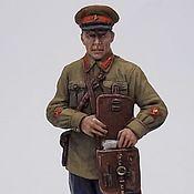 Куклы и игрушки handmade. Livemaster - original item Tin soldier 54mm. Handmade.