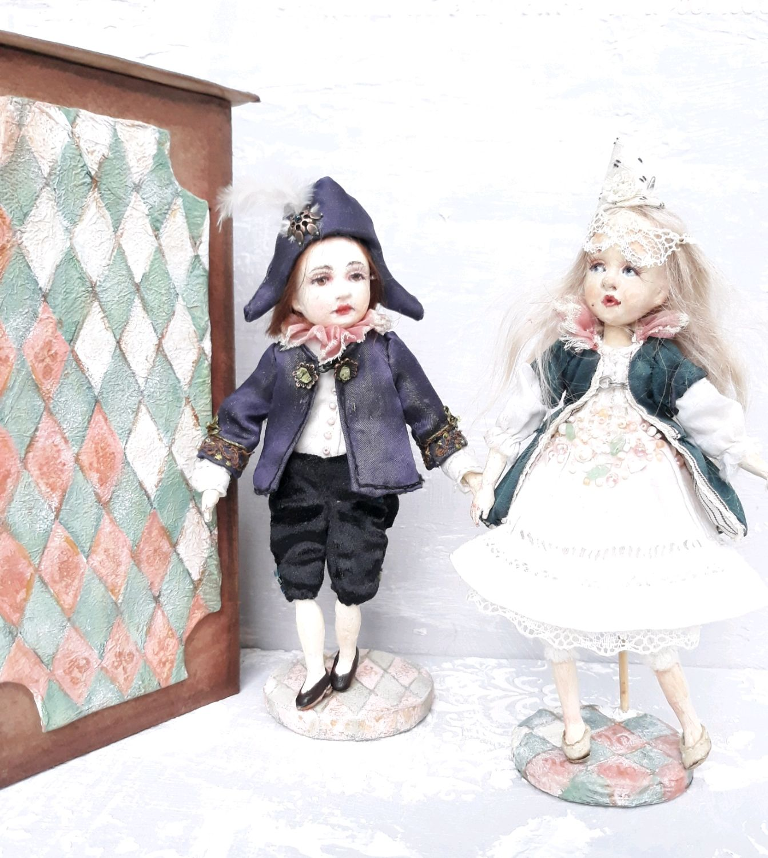 Инфанта и инфант, Куклы, Мурманск, Фото №1