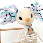 """Куклы и игрушки ручной работы. Ярмарка Мастеров - ручная работа игрушка """"Инопланетянин Денис"""". Handmade."""