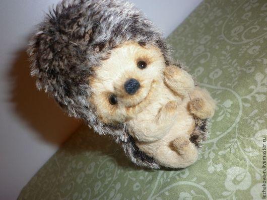 Мишки Тедди ручной работы. Ярмарка Мастеров - ручная работа. Купить Ежик. Handmade. Бежевый, вискоза для мишек тедди