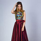 Одежда handmade. Livemaster - original item Evening dress, elegant dress
