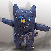 """Куклы и игрушки ручной работы. Ярмарка Мастеров - ручная работа Игрушка-подушка кот """"Джинскик"""". Handmade."""