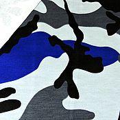 Материалы для творчества ручной работы. Ярмарка Мастеров - ручная работа футер 2х нитка петельный  камуфляж. Handmade.