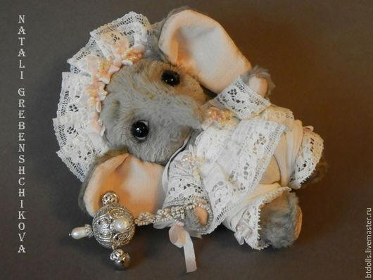 Мишки Тедди ручной работы. Ярмарка Мастеров - ручная работа. Купить Продаётся Слонечка ЛиЛи. Handmade. Белый, миниатюрный