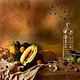 Современный натюрморт в традициях голландских мастеров.  Из серии `Завтрак` Художник Галина Каменская