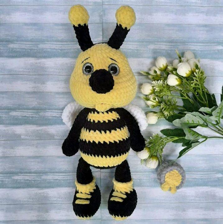 Пчела, Мягкие игрушки, Курск,  Фото №1