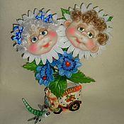 Куклы и игрушки ручной работы. Ярмарка Мастеров - ручная работа Цветочная семейка. Handmade.