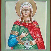 Картины и панно handmade. Livemaster - original item The Holy Martyress Photina the Samaritan woman.( Svetlana) icon. Handmade.
