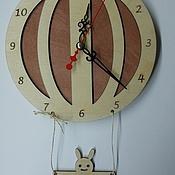 """Часы ручной работы. Ярмарка Мастеров - ручная работа Настенные часы """"Воздушный шар"""". Handmade."""