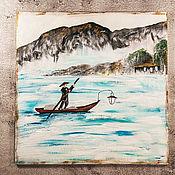 Картины и панно handmade. Livemaster - original item Painting for the interior