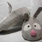 Обувь ручной работы. Ярмарка Мастеров - ручная работа Лунные Зайчишки. Handmade.