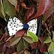 """Галстуки, бабочки ручной работы. Заказать Галстук-бабочка """"Свидание со звездой"""". Bowtie by Veolet. Ярмарка Мастеров. Бабочки"""