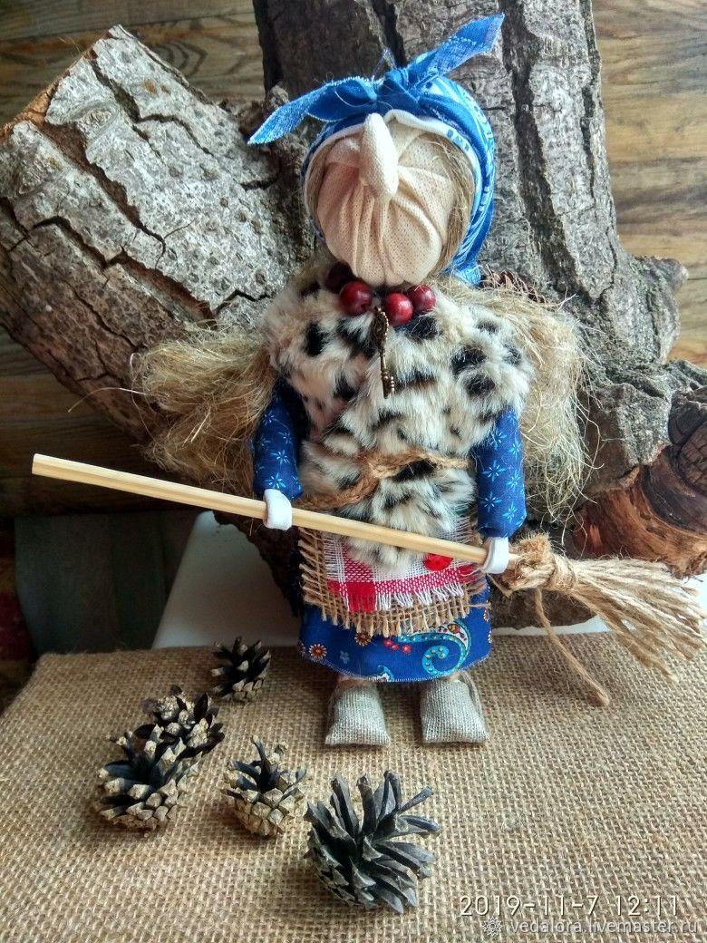 Кукла Баба Яга помощница в делах и финансах, Народная кукла, Салават,  Фото №1