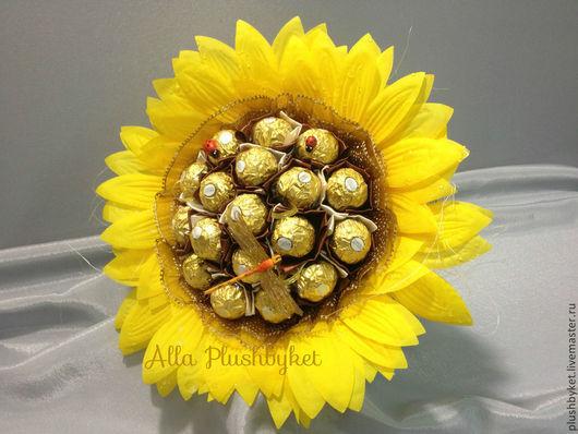 Букет из конфет учителю, букет на 1 сентября недорого, купить букет на день учителя