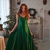 Одежда handmade. Livemaster - original item Green evening dress. Handmade.