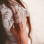 Одежда ручной работы. Ярмарка Мастеров - ручная работа Платье-колокольчик из ажурного кружева. Handmade.