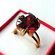 Кубачи! Серебряное кольцо 925 пробы  Графиня.