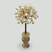 Цветы и флористика handmade. Livemaster - original item Tree of pearls