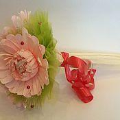 Цветы и флористика ручной работы. Ярмарка Мастеров - ручная работа Букет из конфет Миник Герберы с раффаэлло. Handmade.
