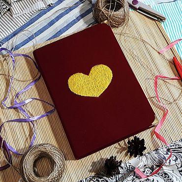 Stationery handmade. Livemaster - original item Sketchbook / scrapbook for sketches / record Book. Handmade.