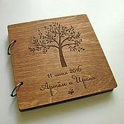 Свадебный салон handmade. Livemaster - original item Book wishes wooden. Tree. Handmade.