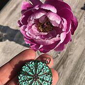 Винтаж handmade. Livemaster - original item Pendant, medallion,