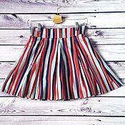 Одежда handmade. Livemaster - original item Skirt in stripe. Handmade.