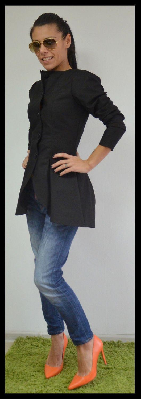 Пиджаки, жакеты ручной работы. Ярмарка Мастеров - ручная работа. Купить Пиджак Black Blazer. Handmade. Женская одежда