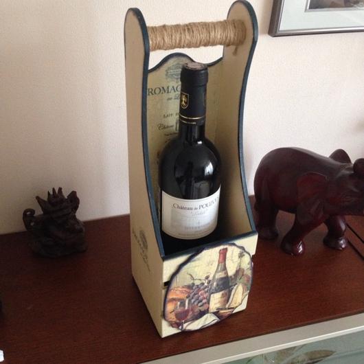 Подарочный винный короб