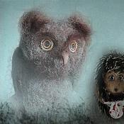 Куклы и игрушки ручной работы. Ярмарка Мастеров - ручная работа Филин из Ежик в тумане. Handmade.
