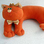Куклы и игрушки ручной работы. Ярмарка Мастеров - ручная работа Подушка-игрушка Кот Полбублика. Handmade.