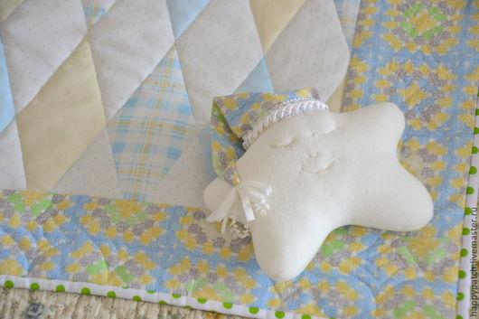 Пледы и одеяла ручной работы. Ярмарка Мастеров - ручная работа. Купить Подарочный комплект  для малыша. Handmade. Голубой, плед в кроватку