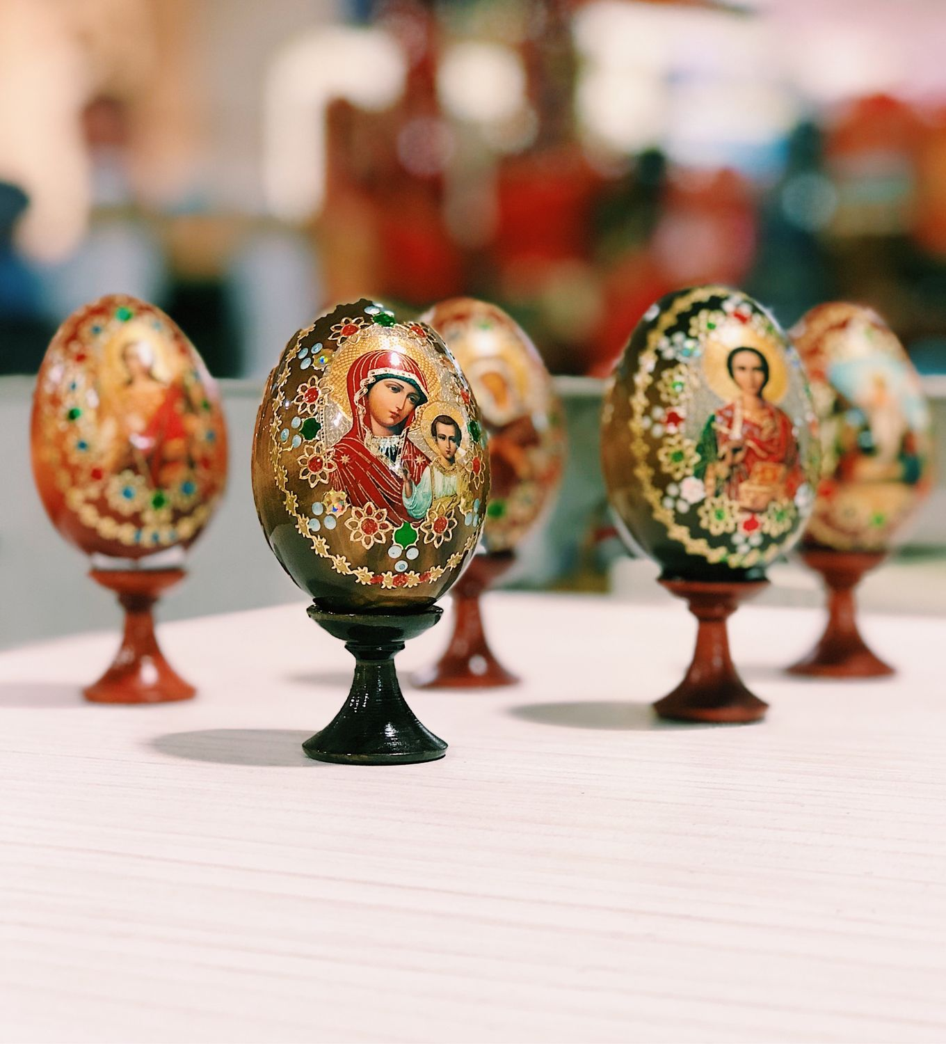 Wooden ORTHODOX EGG, 10 cm, Eggs, Moscow,  Фото №1