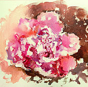 Картины и панно handmade. Livemaster - original item Flower of dawn - oil painting. Handmade.