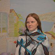 Аксессуары handmade. Livemaster - original item Milled tippet - scarf