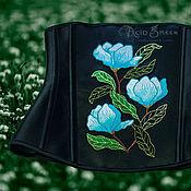 """Одежда ручной работы. Ярмарка Мастеров - ручная работа Корсет с вышивкой """"Летняя прохлада"""". Handmade."""