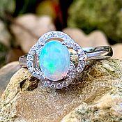 Украшения handmade. Livemaster - original item Silver ring with opal,. Handmade.