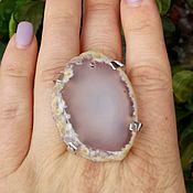 Украшения handmade. Livemaster - original item Ring with agate. Handmade.