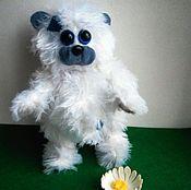 Куклы и игрушки ручной работы. Ярмарка Мастеров - ручная работа Мягкая игрушка мишка-тедди Белоснежко. Handmade.