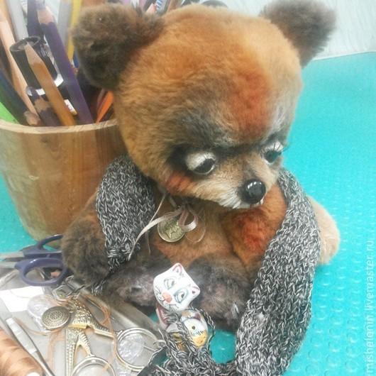 Мишки Тедди ручной работы. Ярмарка Мастеров - ручная работа. Купить лисенок Люк. Handmade. Оранжевый, ручная авторская работа